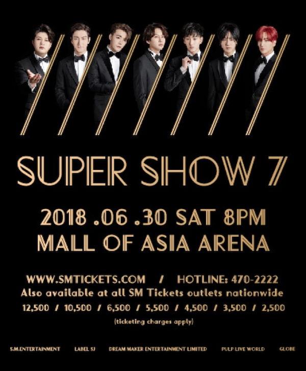 Super Show 7 | ClickTheCity Events