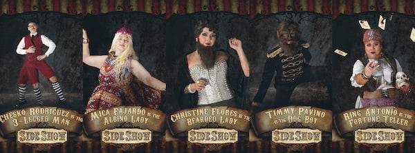 Side Show Cast Part 1