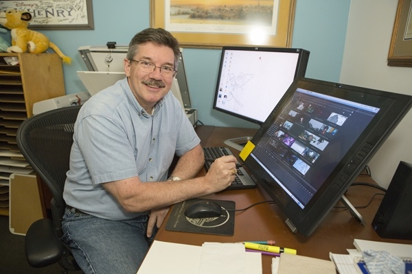 Walt Disney Studios Supervising Animator Mark Henn