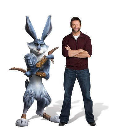 Hugh Jackman is warrior rabbit Easter Bunny in animated film 'Rise