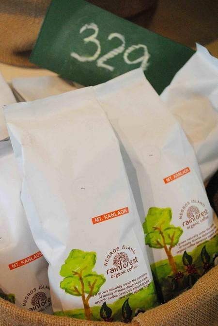 Organic coffee from Negros