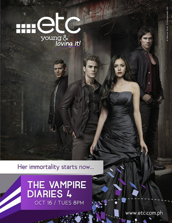 Are You Ready to Take A Bite in to The Vampire Diaries