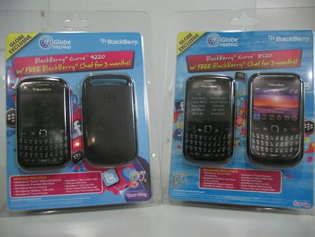 Globe and RIM offer BlackBerry Curve smartphones in prepaid kits
