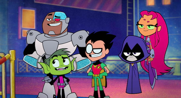 Teen Titans Go Animators from Snipple Animation