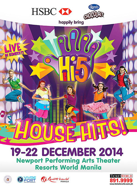 Hi-5 House Hits | ClickTheCity Events
