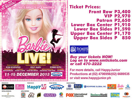 Barbie LIVE! | ClickTheCity Events