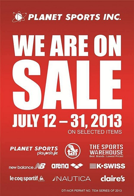 d95db89461a54 Catch amazing discounts from July 12-31 at all Planet Sports stores.