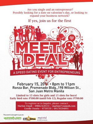 Speed-Dating in Manila