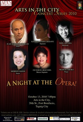 A Night At The Opera | ClickTheCity Events