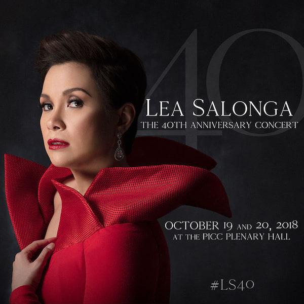 Lea Salonga: The 40th Anniversary