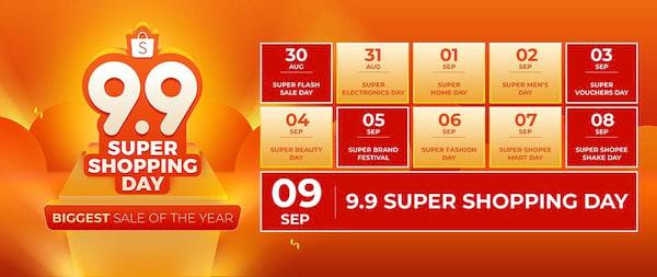 Shoppe Calendar