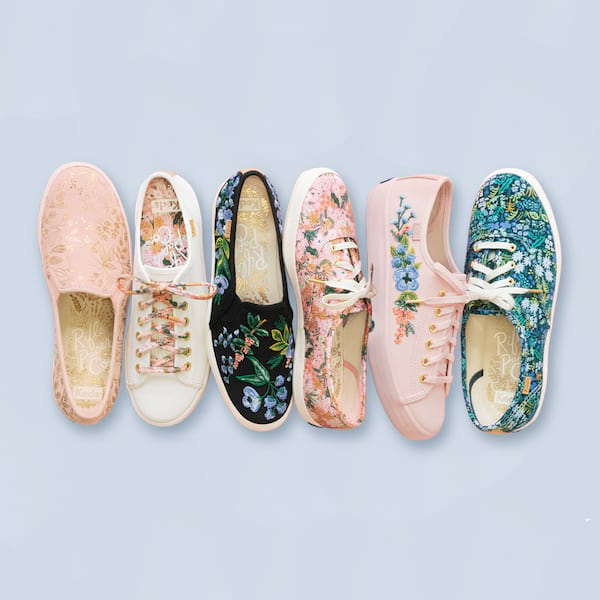 657eae963e1 Fall for Florals with the Newest Keds x Rifle Paper Co. Collection ...