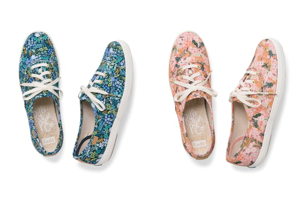 f3ff7f60f17 Fall for Florals with the Newest Keds x Rifle Paper Co. Collection ...