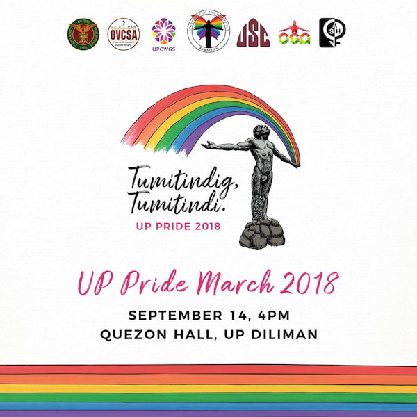 UP Pride March 2018