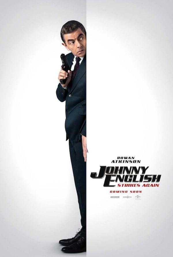 Johnny English Strikes Again   ClickTheCity Movies