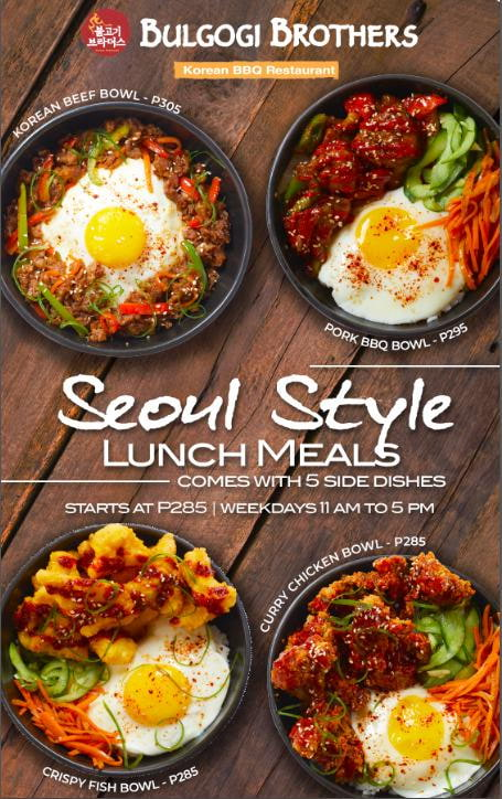Bulgogi Brothers BBQ Pairings and Seoul Style Lunch