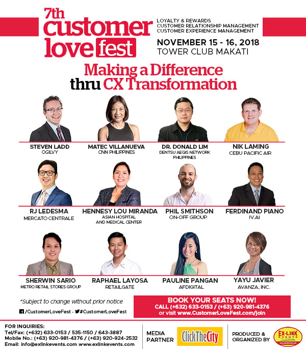 7th Customer Lovefest