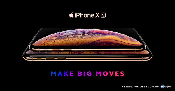 Globe iPhone Xs and iPhone Xs Max