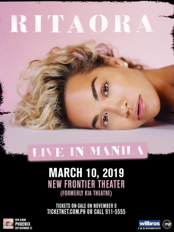 Rita Ora Is Coming to Manila