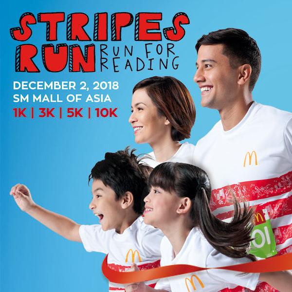 McDonalds Stripe Run