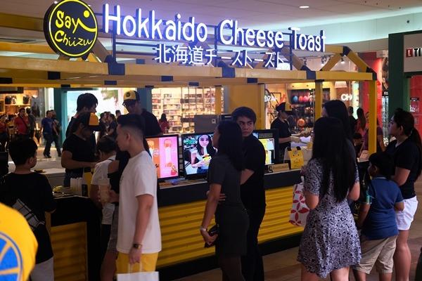 Bangkok's Original Hokkaido Cheese Toast, Say Chiizu, is now