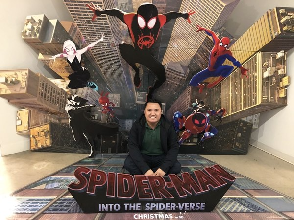 Ryan Paredes Rubi Spider-Man Into the Spider-Verse