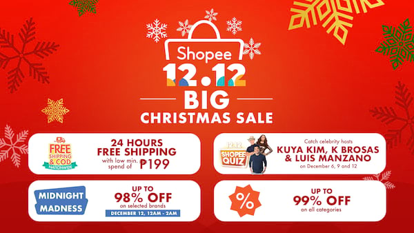 Shopee Big Chrstmas Sale