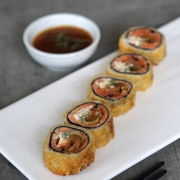 unique sushi rolls japanese food in metro manila