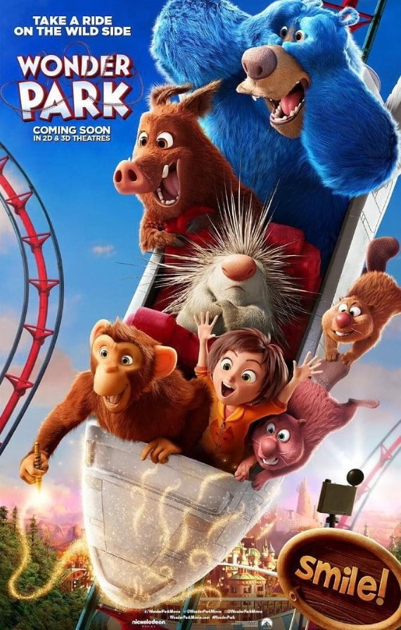 Instant Family Wonder Park Sonic The Hedgehog Launch New Posters Clickthecity