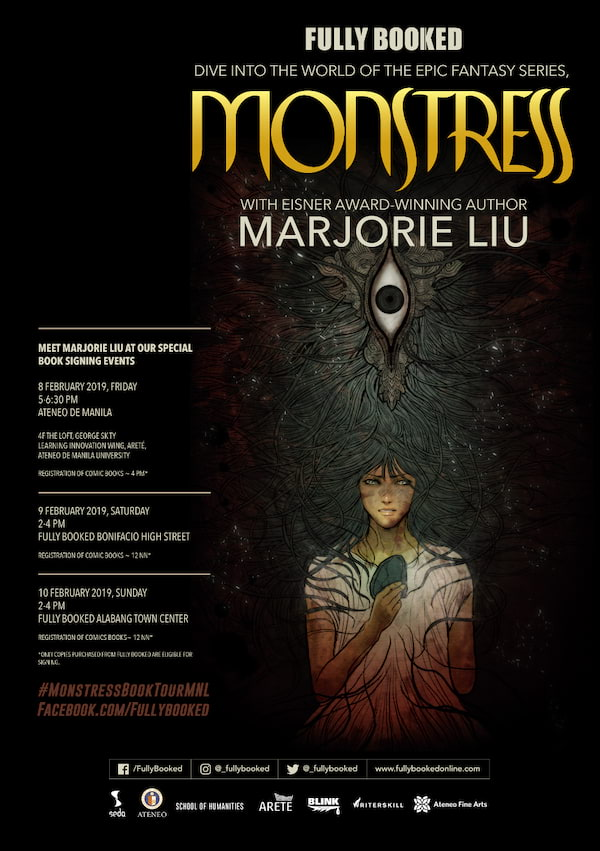 Monstress Book Tour