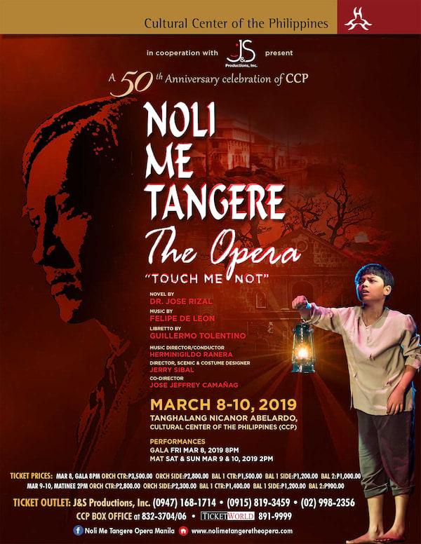 Noli Me Tangere Poster 2