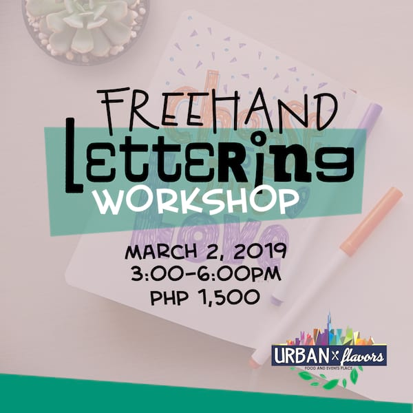 Freehand Lettering Workshop