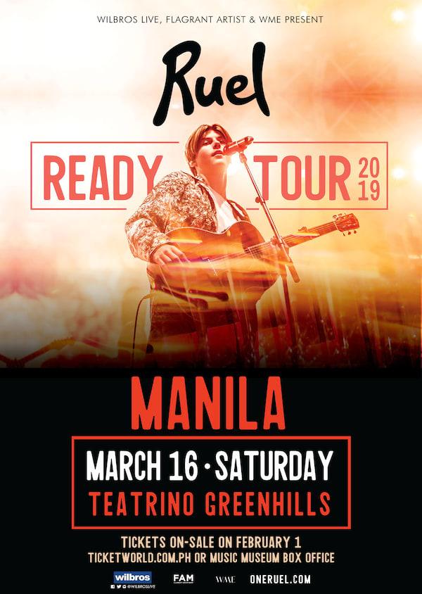 Ruel Live in Manila