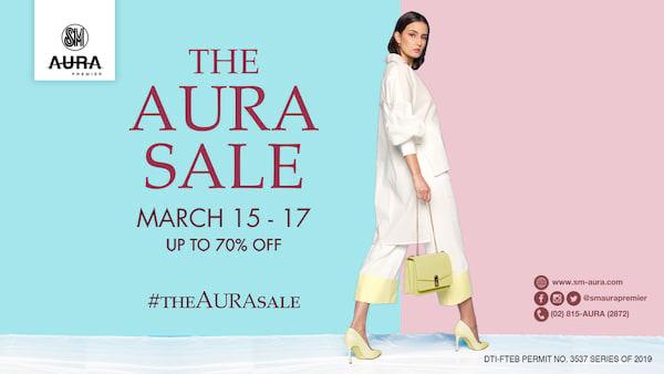 The SM Aura Sale