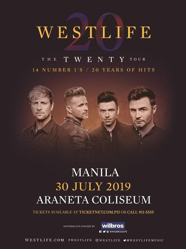 Westlife Twenty Tour