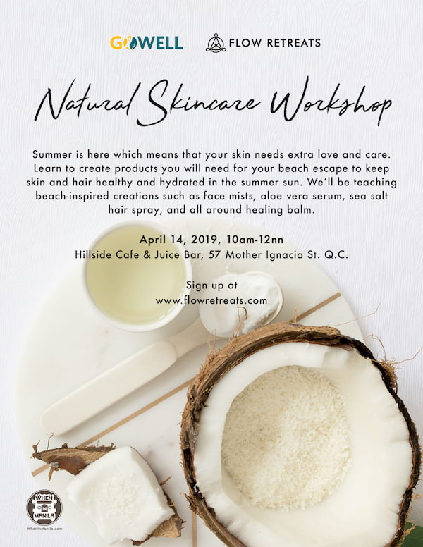 Skin care Workshop