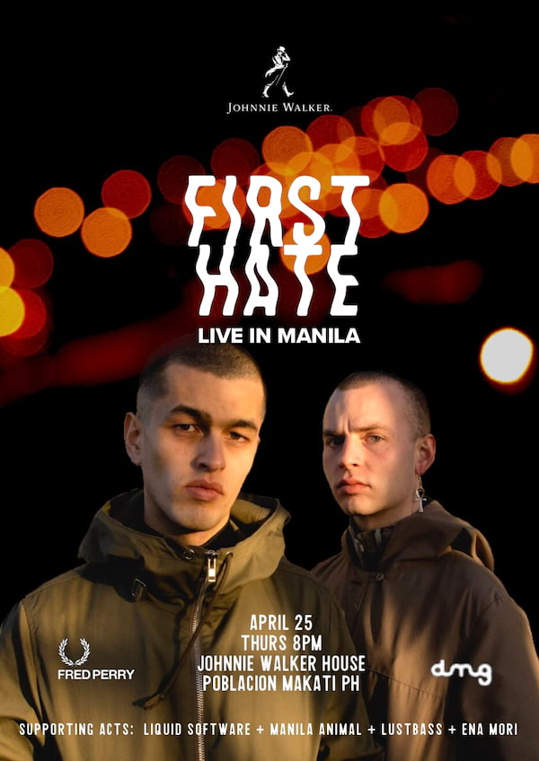 First Hate Live in Manila