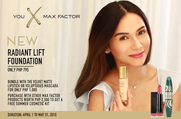 Maxa Factor Radiant Lift Bundle promo