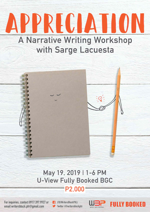 Narrative Wrting Workshop
