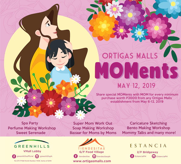 Moments at Ortigas Malls