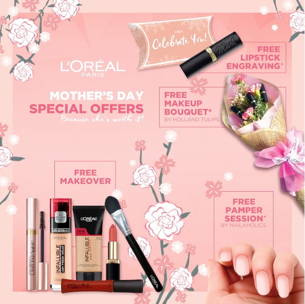 L'Oreal Mother's Day