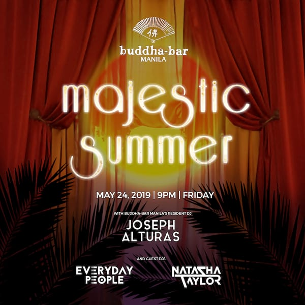 Majestic Summer at Buddha Bar