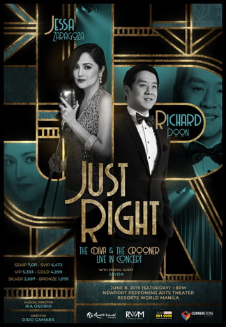 Just Right: The Diva and The Crooner