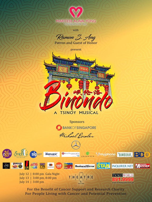 Binondo: A tsinoy Musical