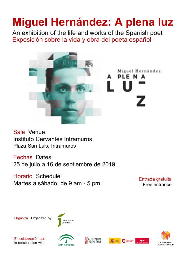 Miguel Hernandez, A Plena Luz