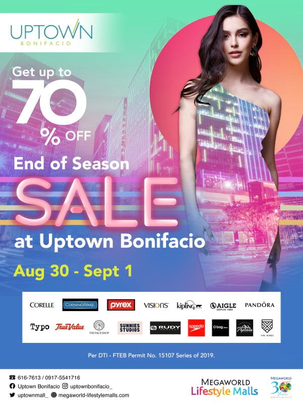 Uptown Mall Sale