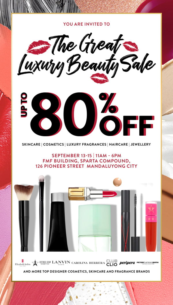The Great Luxury Beauty Sale