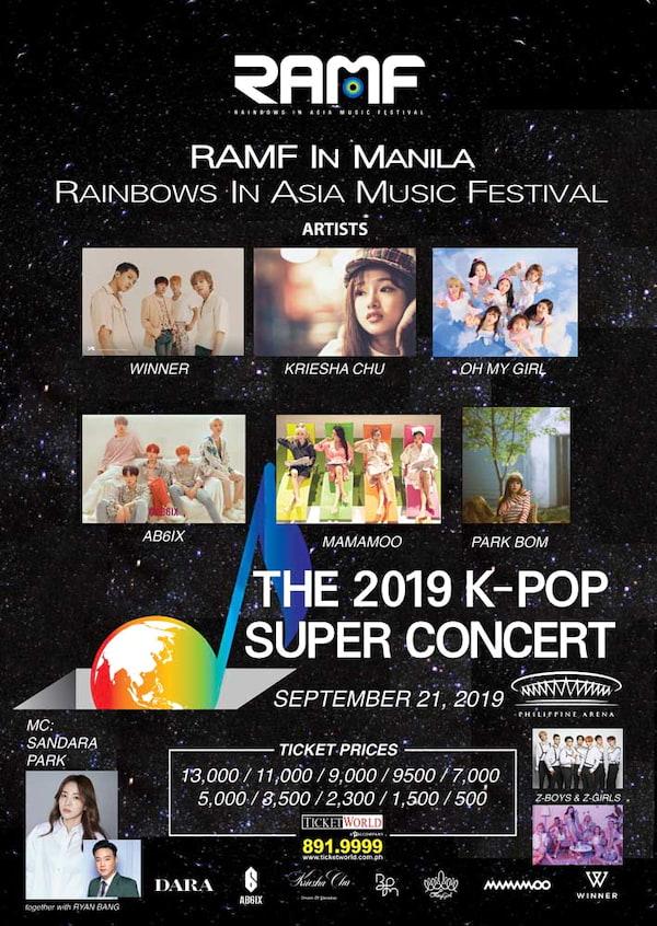 Ramf: The 2019 K-Pop Super Concert