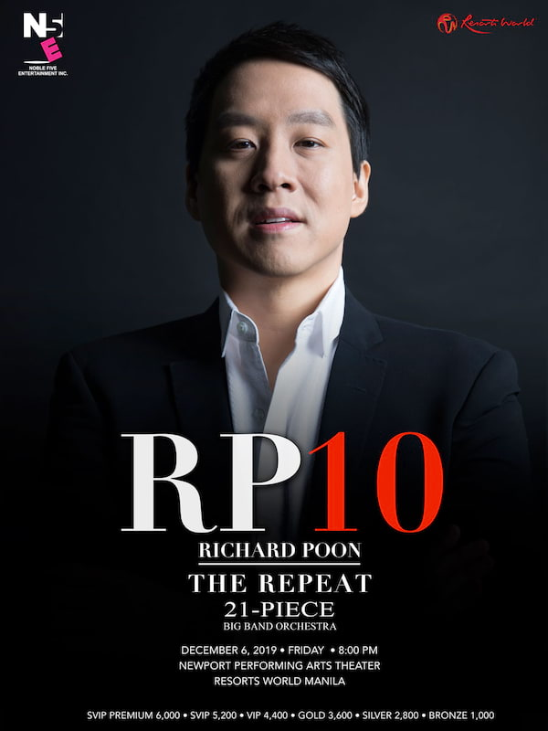 RP 10 Richard Poon The Repeat