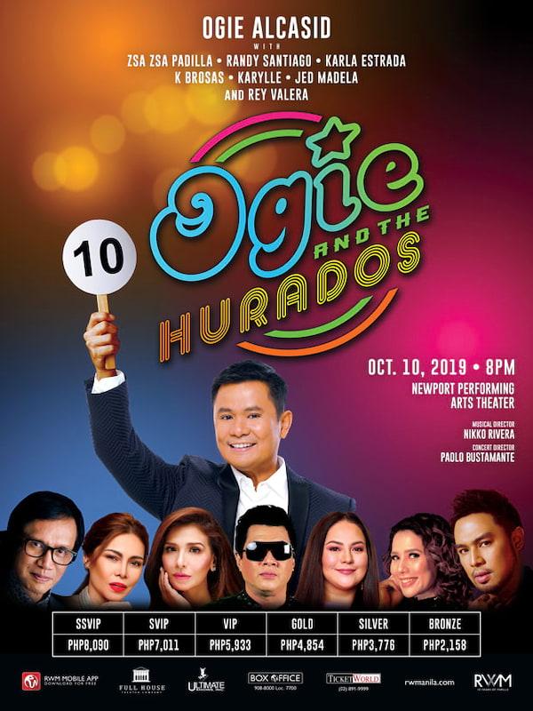 Ogie and The Hurados